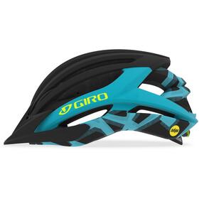 Giro Artex MIPS - Casque de vélo - noir/turquoise